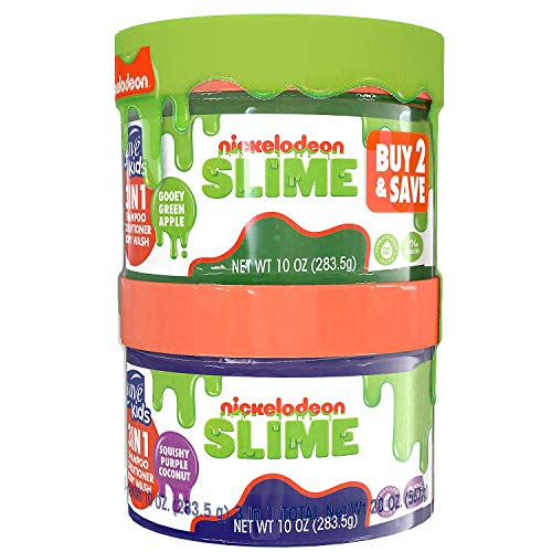 Suave Kids 3 in 1 Shampoo, Conditioner and Body Wash Nickelodeon Slime, 20 Ounce