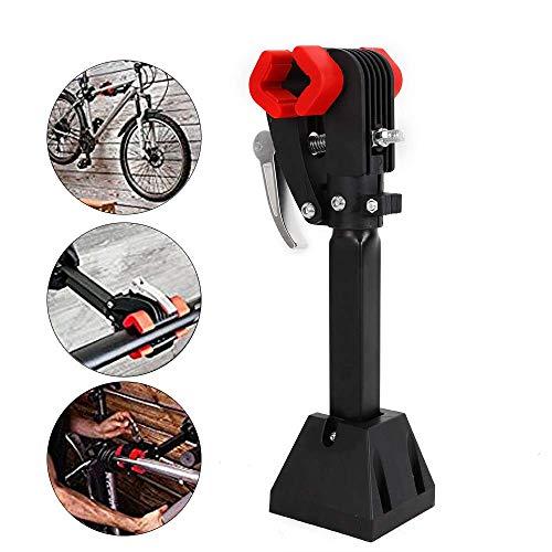 Capalta Blume Fahrrad Montageständer Reparaturständer 30 kg Unterstützt Fahrradständer Reparatur-Wandhalter Werkzeugständer
