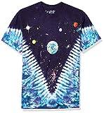 Liquid Blue Men's Space Top T-Shirt, Tie Dye, X-Large