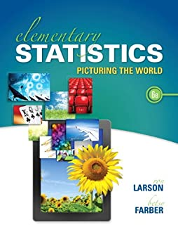 Elementary Statistics: Picturing the World (6th Edition)