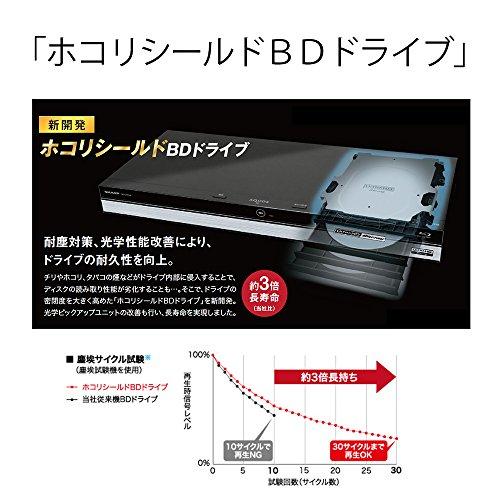 『シャープ AQUOS ブルーレイレコーダー 500GB 1チューナー BD-NS520』のトップ画像