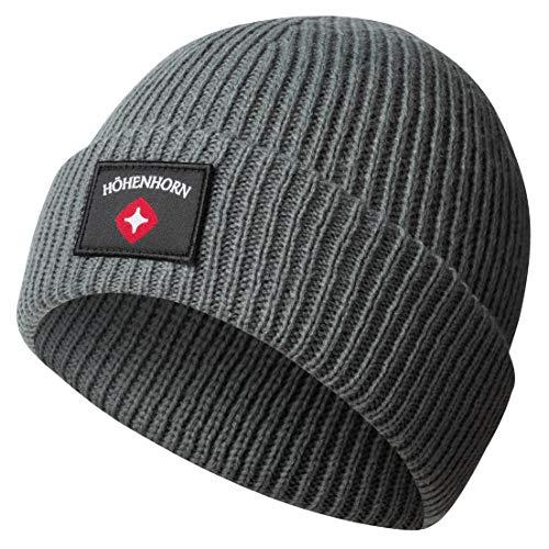 Höhenhorn Ronce Knitted Beanie Unisex Herren Damen Mütze Grau