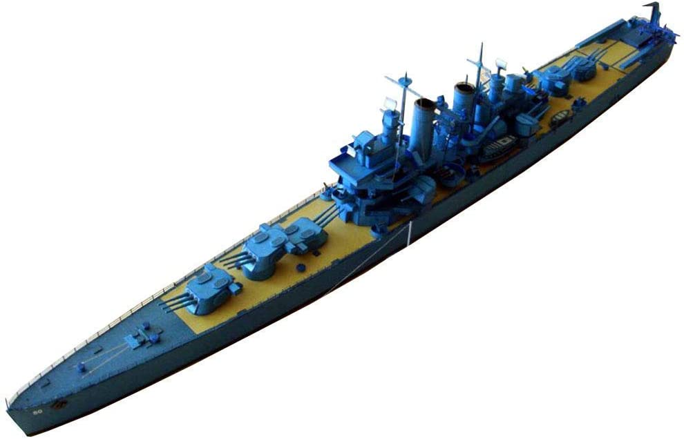 HDHUIXS Challenging Puzzle Model Cheap mail order specialty store Toys 1 Helena Austin Mall Scale 400 USS Li