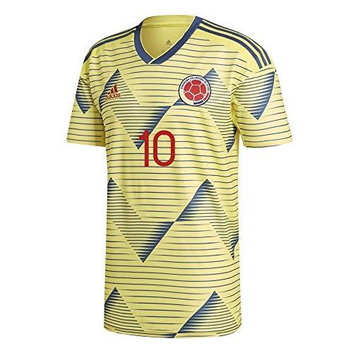 adidas Fußball Kolumbien Heimtrikot 2019 2020 Home Trikot Herren James 10 Gr L