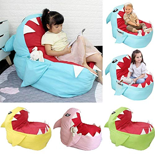Fantastic Deal! Langle Children's Plush Toy Storage Bag Lazy Cartoon Sofa Baby Chair Push & Pull Toy...