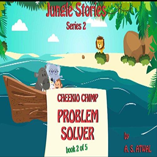 Cheekio Chimp audiobook cover art