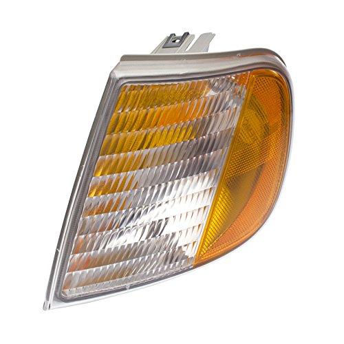 CarPartsDepot 97-03 Ford F150 Turn Signal Lamp Light Lens Hsg FO2550118 For F75Z13201AC Left