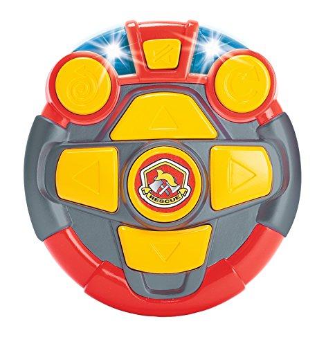 RC Auto kaufen Feuerwehr Bild 4: Dickie Toys 203814031 - RC Happy Scania Fire Engine, funkferngesteuertes Feuerwehrauto, für Kleinkinder ab 2 Jahren, 27 cm*