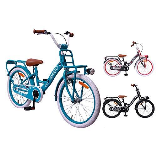 AMIGO Bloom – Bicicleta niños – 20 Pulgadas –