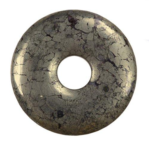 Lebensquelle Plus Pyrit Edelstein Donut Ø 30 mm Anhänger
