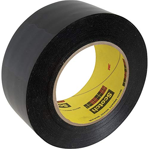 3M Band selbstklebend, Polyethylenfolie Länge 33 m, Breite 50 mm, schwarz