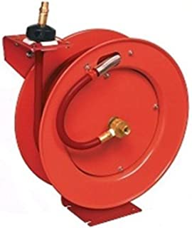 New 83753 Lincoln Retractable Air Hose Reel w/ 50 ft of 3/8