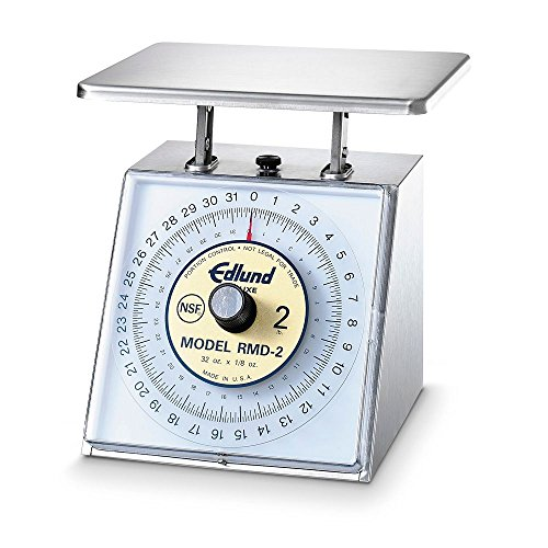 Edlund RMD-2 Deluxe Four Star Series S/S Portion Scale