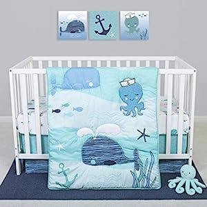 515ujMznOKL._SS300_ Nautical Crib Bedding & Beach Crib Bedding Sets