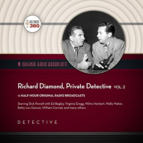 Richard Diamond, Private Detective, Vol. 2 cover art