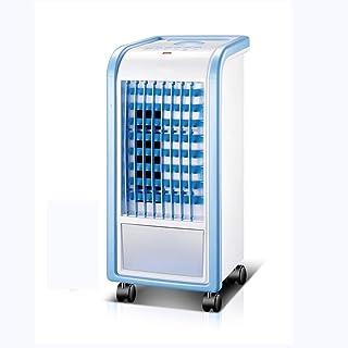 JINHH Dormitorio del Hogar del Refrigerador De Agua, Moldeada Aire Frío Enfriador Portátil Móvil Inteligente De Aire Acondicionado Individual