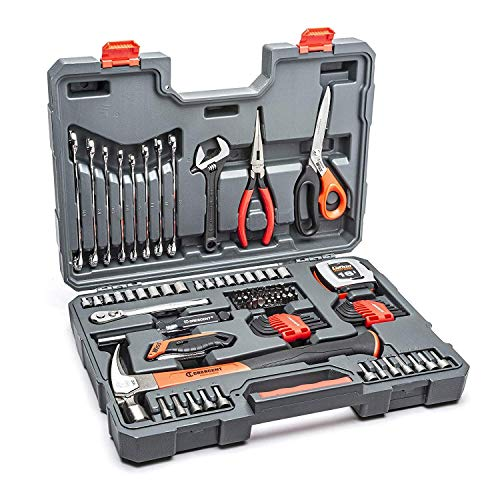 Crescent 101 Piece General Purpose Tool Set, SAE & Metric - CTK101