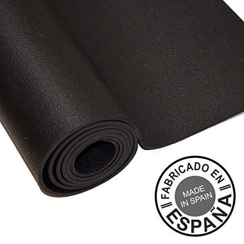 Sternitz - Esterilla de Yoga Pro - Latex Natural - Eco-Friendly - Antideslizante - Yoga Mat Natural Latex (180cm x 65cm x 4mm, Negro)