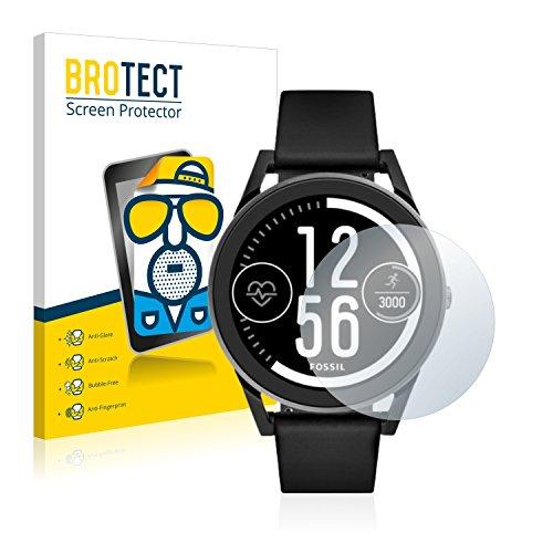 BROTECT 2X Entspiegelungs-Schutzfolie kompatibel mit Fossil Q Control Bildschirmschutz-Folie Matt, Anti-Reflex, Anti-Fingerprint
