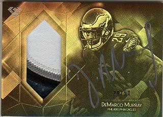 2015 Topps Diamond Patch Autographs #DAPCDMU DeMarco Murray Autograph Jersey Card Serial #'d/50