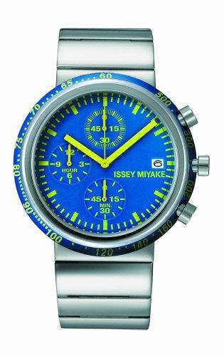 Issey Miyake signore orologio da polso Trapezoid silaq 371laq002