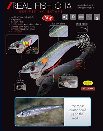 DTD JIBIONERA Real Fish Oita - 9CM - Sugarello...