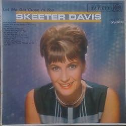 Skeeter Davis - Let Me Get Close To You. VINYL LP. (1964). G++/G++