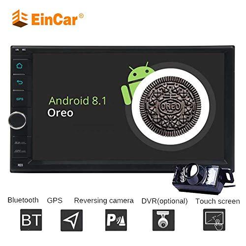 7 pulgadas de pantalla t¨¢ctil capacitiva Android 8.1 Oreo multimedias del coche del jugador Octa Core 2 GB + 32 GB Doble Din Car Autoradio GPS Bluetooth WIFI / 3G / 4G OBD2 DVR Controles en volan
