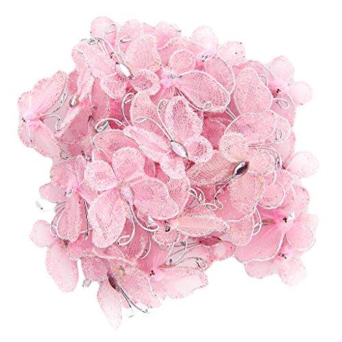 Viskey, Rouleaux de ruban 20 mm, Décoration fête de mariage., rose, Style 1