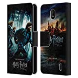 Head Case Designs Officiel Harry Potter Groupe Deathly Hallows VII Coque en Cuir à Portefeuille...