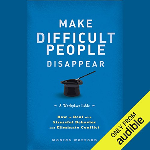 Make Difficult People Disappear audiobook cover art