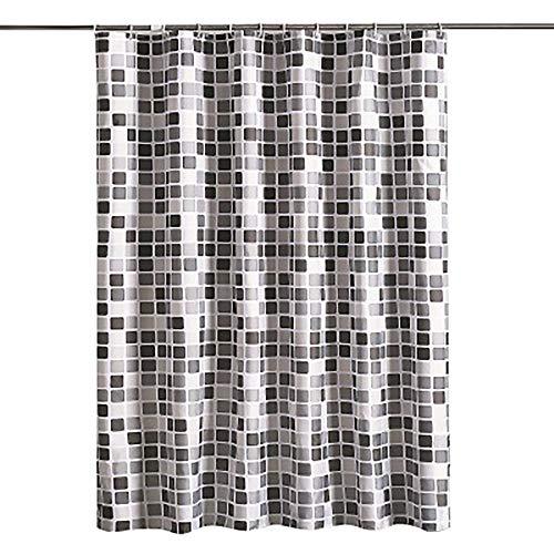 SHAOHUALI douchegordijn mozaïek douchegordijn dikke waterdichte badkamer gordijn schimmel polyester doek douchegordijn