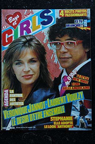 BOYS et GIRLS n° 247 * septembre 1984 * STEPHANIE Laurent VOULZY Véronique JANNOT