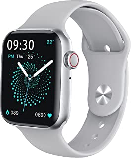 VIKUSHA V22 Smart Watch, 1.75 inch Screen Zinc Alloy 200mAh Battery with Call, Sleep, Heart Rate and Outdoor Sports Functi...