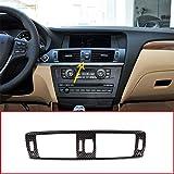 KDLLK Interior de Fibra de Carbono,para BMW X3 F25 2011-2017 Estilo de Fibra de Carbono ABS Plástico Interior del Coche Aire Acondicionado Marco de ventilación Ajuste
