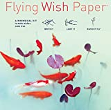 "Flying Wish Paper - Write it, Light it, Watch it Fly - KOI POND, A Symbol of Good Luck - 5"" x 5"" - Mini Kits"