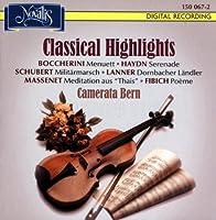 Classical highlights Valzer n.1 > n.5 Serenata op 3 n.5 Marcia militare D 733 (1818) n.1 op 51 Herzwunder