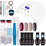 Best Gel Polish Kits - Gellen Gel Nail Polish Kit with UV Light Review