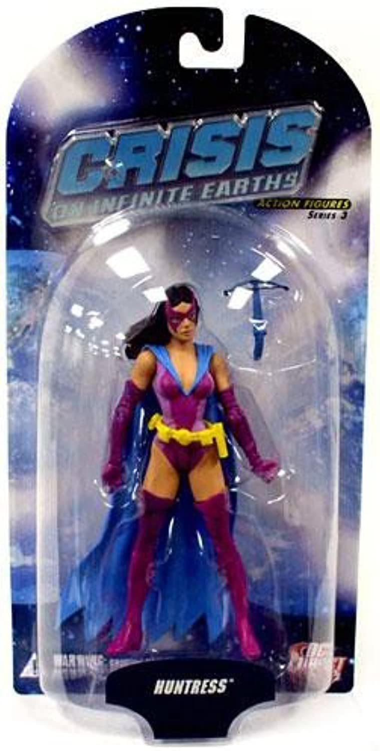 Crisis on Infinite Earths Series 3  Earth 2 Huntress Action Figure by DC Comics