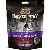 Merrick Backcountry Big Game Real Lamb & Venison Jerky Grain Free Dog Treats, 4.5-oz bag