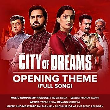 City of Dreams (Original Series Soundtrack)