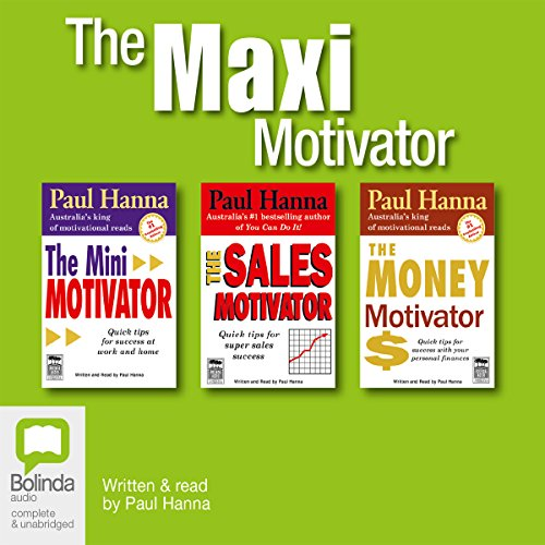 The Maxi Motivator audiobook cover art