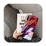 uulalala Liquid Art Coque pour Huawei Y5 II Y6 II Y5 Y6 Y7 Prime Y7Plus Y9 2018 2019-a8-pour Y6 II