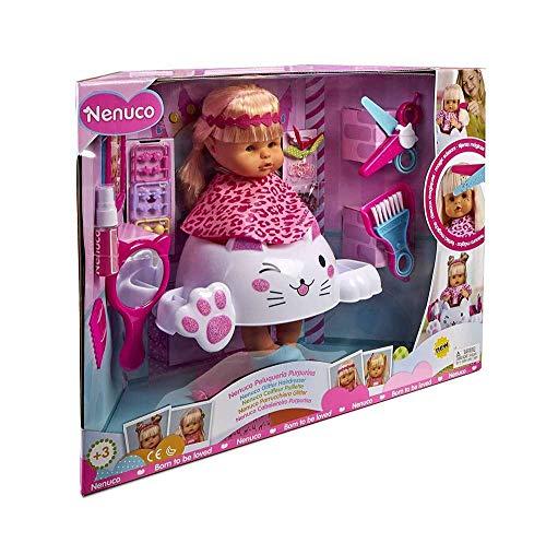 Nenuco Bambola Parrucchiera Glitter Scintillante Giocattolo 3+