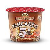 Chocolate Chip Pancake Cups by Birch Benders, Grain-Free, Gluten-Free, Keto friendly, only 5 Net...
