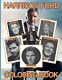 Harrison Ford Swirls Dots Waves Diagonals Lines Coloring Book: Perfect Gift Spirograph Styles Colouring Books For Adults, Teenagers (Get Well Gifts)
