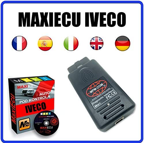 MISTER DIAGNOSTIC Diagnosegerät MPM-COM + MaxiECU 2 für Iveco Fahrzeuge – Profi-Diagnose