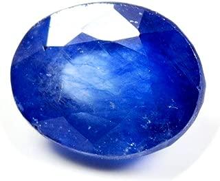 CaratYogi Real Blue Sapphire Loose Gemstone 3 Carat Oval Birthstone Healing for Jewelry at Wholesale