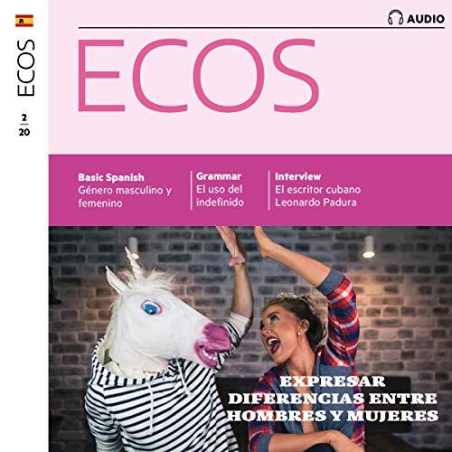 『Ecos Audio - Expresar diferencias entre hombres y mujeres. 2/2020』のカバーアート