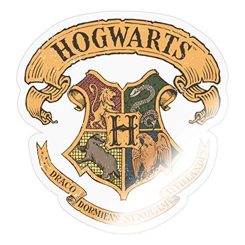 Harry Potter Hogwarts Wappen Sticker, One Size, Transparent glänzend